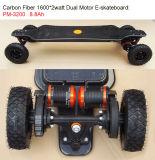 [2000وتّ] يثنّي 2 محرّك 4 عجلة يجهّز لوح التزلج كهربائيّة