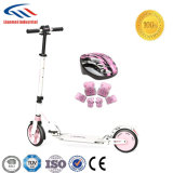 ヘルメットが付いている電気計量器のスクーター