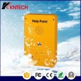 Telefono IP65 del telefono Knzd-39 di guida del telefono SOS della protesi acustica