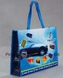 再使用可能なPP非編まれた薄板にされた袋のショッピングトートバック