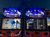 Увеселительный Парк оборудования снег Автогонки игры машины