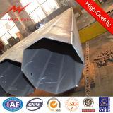 Stahlpole für obenliegende Kraftübertragung