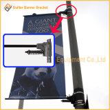 Уличный свет Поляк металла рекламируя рукоятку знамени (BS11)