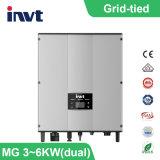 3invité kwatt/4kwatt/4.6KWATT/5kwatt/6kwatt-2m Grille simple phase- Système d'alimentation solaire liée (double)