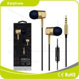Fone de ouvido excelente estereofónico baixo de Smartphone dos sons da potência