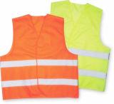 Высокая видимость безопасности оранжевый светоотражающий Майка