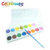 A arte fornece o bolo da cor de água de 12*2.5cm, Aquarelle, W1225