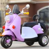 De elektrische Motorfiets Met drie wielen van het Stuk speelgoed van Jonge geitjes Elektrische met Batterij