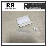 Marca personalizada de rodadura transparente los papeles para fumar solo amplia