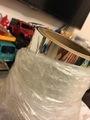 Le transfert de chaleur Film Miroir, miroir de l'estampage à chaud en aluminium brillant, film miroir pour l'ABS, film miroir pour le PP