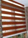Ciechi di rullo di mancanza di corrente elettrica del tessuto della zebra, tonalità di finestra commerciali
