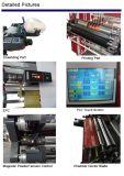 Machine van de Druk van Flexo van het Verpakkende Materiaal van de Hoge snelheid van twee Kleuren de Efficiënte