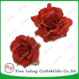 Flor de seda Peony Chefes grandes cabeças de flores artificiais subiu para