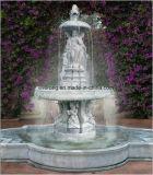 De klassieke Grote OpenluchtDame van het Ontwerp en Fontein van het Water van de Steen van de Engel de Openlucht