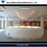 販売のためのアクリルの固体表面の白い大広間のフロント