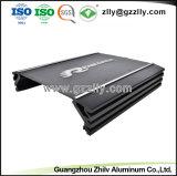6063 de alta calidad personalizado con el perfil de aluminio anodizado y mecanizado CNC