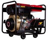 4.6kVA de hete Verkoop deinst Open Diesel van het Type Generator terug