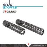 Picatinny Rail Handguard Keymod composite en fibre de carbone (G06K10)