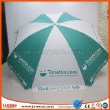 Parapluie de Sun de publicité fait sur commande de plage