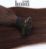 Remy cabelos humanos brasileiros Brown 20 pol ponta plana extensão de cabelo