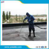 Deux pièces réglage instantané de l'asphalte en caoutchouc de pulvérisation liquide revêtement imperméable