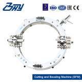 Außendurchmesser-Eingehangener beweglicher hydraulischer Riss-Rahmen/Rohr-Ausschnitt und abschrägenmaschine (SFM1218H)