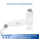 Botella de cristal en blanco imprimible del recorrido de la botella de agua de la sublimación