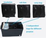 Premium поездки автомобиль кроссовер груза погрузчик коробка для хранения крышки багажника складной полиэстер организатор соединительных линий автоматического привода подушки безопасности