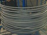Tubo acanalado mecánico del acero inoxidable que forma la máquina