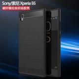 Kohlenstoff-Faser-Telefon-Kästen für Sony Xperia E6 Xperia L1