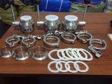 De sanitaire Klem ISO DIN 3A ASTM van de Pijp van het Roestvrij staal