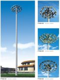 Stadium에 40m Steel Galvanized High Mast Used