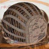 Brown barato destaca a peruca do cabelo humano (PPG-l-01670)