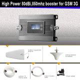 高利得2g 3G 850MHzの移動式シグナルのブスターの携帯電話の細胞シグナルの中継器