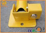 Alberino d'acciaio di parcheggio della barriera di parcheggio dell'automobile con la serratura