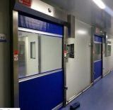 Certificado CE de lona de Alta Velocidade Padrão arregaçar Portas Porta com certificação CE
