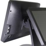 Libre-Encadrement plat Msr terminal de position d'écran tactile de noir de 15 pouces avec le système androïde