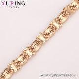 Bracelete de 74991 mulheres da jóia de traje do ouro da forma 18K com pedra