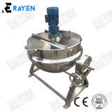Chemisé de vapeur de cuisson en acier inoxydable bouilloire avec console de mixage