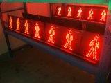 lumière piétonnière rouge de 300mm et led verte dynamique de feux de signalisation