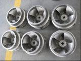 Acier inoxydable d'ailette du guidage de moulage au sable de turbine moulant le matériau 2205