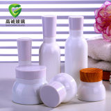 装飾的な包装のための化粧品の製陶術のクリームの瓶のローションのびん