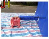 La glissière sautante gonflable, gonflable extérieur sèchent la glissière pour des gosses