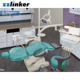 El Ce colgante del brazo termina la unidad dental de la silla plegable