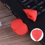 De rode Aandrijving van de Pen van de Stok van het Geheugen van de Aandrijving van de Flits van het Hart USB Mooie