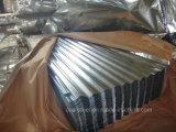 Strato d'acciaio del tetto del tetto galvanizzato 0.17/0.26*665 Sheet/Gi (PROFILO)