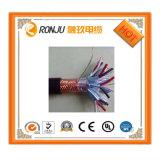 Кабель Rvs электрического провода PVC 450/750V Twisted электрический 0.5mm квадратный Rvv Sipu гибкий