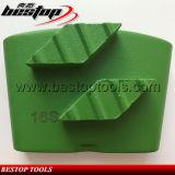 Плита этапов косоугольника поставщика HTC Bestop меля для бетона