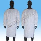 Nichtgewebtes verstärktes chirurgisches Wegwerfkleid mit sterilem Kleid