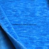 陽イオンの印刷の効果のマイクロ羊毛、ジャケットファブリック(royalblue)